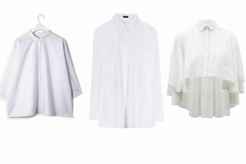 Camicia bianca - Cos - Jil Sander Navy - Asos