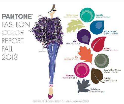 Pantone colori AW 2013-2014