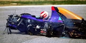 Roland Ratzenberger Unfall Imola 1994