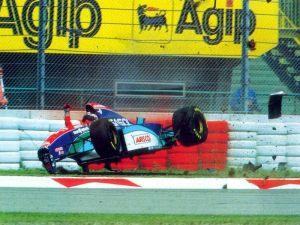 Rubens Barrichello imola crash 1994