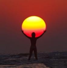 Abbraccio al sole
