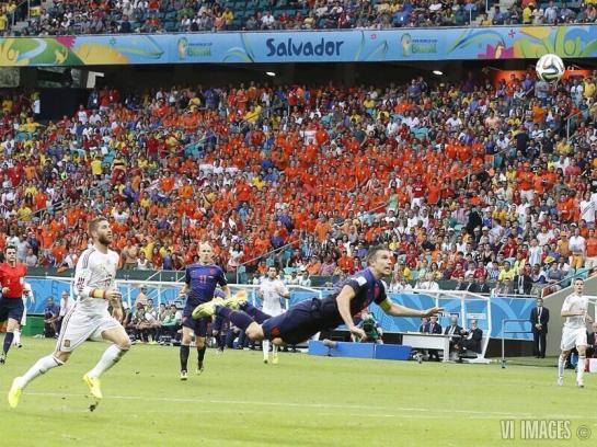 Van Persie vs Spain