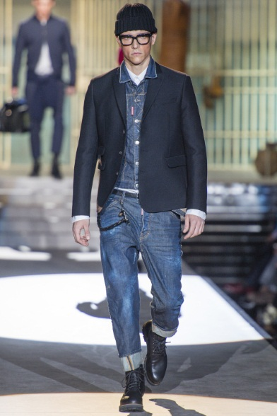 Denim+Cappello (DSquared2 FW 2014 2015)
