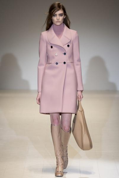 Pink Coat (Gucci FW 2014 2015)