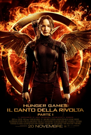 Hunger Games Il canto della rivolta parte 1 - Dal 20.11.14