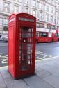 In pieno stile londinese: la cabina telefonica rossa