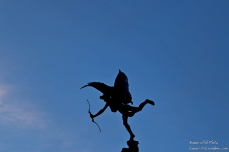 Cupido a Piccadilly Circus