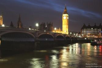 Il Westminster Bridge con il Big Ben sullo sfondo