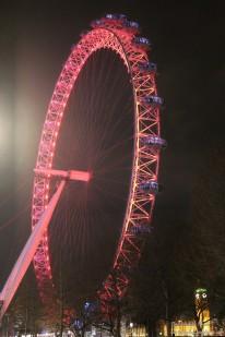 L'imponenza della London Eye