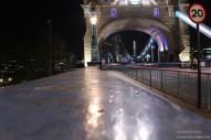 Lunga esposizione sul Tower Bridge