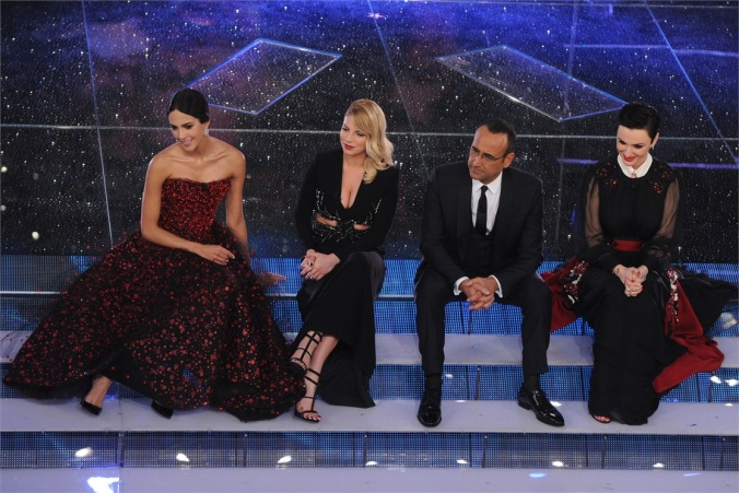 1)Rocio, Emma, Carlo e Arisa