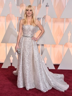 Anna Faris in Zuhair Murad Couture. Incantevole.
