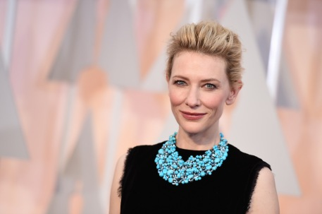Cate Blanchett, collier di Tiffany&Co.
