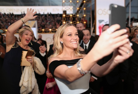 Reese Witherspoon, orecchini Tiffany&Co.
