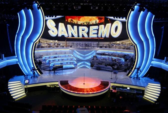 Scenografia Sanremo 2015 (Corriere della sera)